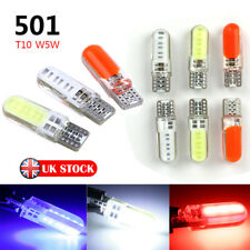 T10 CAR BULBS LED ERROR FREE CANBUS COB SMD XENON W5W 501 SIDE LIGHT BULB UK