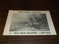 FEBRUARY 1968 NKP 759 WILKES-BARRE LIMITED ROUTE GUIDE BOOKLET