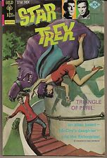 "STAR TREK TOS #40 GOLD KEY 09/76 ""A FURLOUGH TO FURY"" W/ McCOY'S DAUGHTER FN/VF"