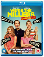 We're the Millers: Extended Cut Blu-Ray (2013) NEW