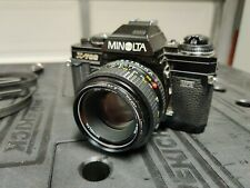 Minolta X-700 Manual Film Camera with Md 50mm F/1.7 Lens
