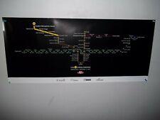 Toronto Subway Map Poster.Toronto Subway Map Ebay