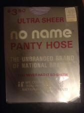 WOW!  Vintage No Name stone lilac pantyhose size C