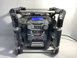 Bosch PB360C 18V Power Box Battery Charger Station & Bluetooth Jobsite Radio