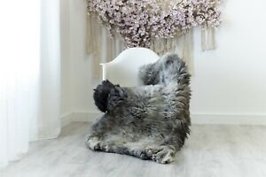 Real Sheepskin Rug Chair Cover Sheepskin Throw Sheep Skin Ivory #herdwik114