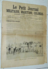 12/06 1904 JOURNAL MILITAIRE MARITIME COLONIAL N°27 CHARI ESCADRE MERS DE CHINE