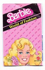 Vintage Barbie 1984 Fashion Booklet Book Mini Clothes Catalogue