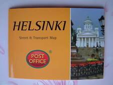 HELSINKI Street & Transport Map Pocket Guide Pop-Up NEW Capital Finland