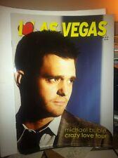 Cover of Michael Buble on I Love Las Vegas magazine