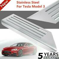 Für Tesla Model 3 Edelstahl Auto Fußstütze Rutschfeste Fußpedalabdeckung V5X2