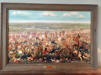 Vintage 1950's Custer's Last Fight Anheuser Busch Budweiser Advertising St Louis
