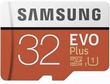 Samsung 32gb Micro SD Card SDHC EVO+ UHS-1 Class 10 Memory Card With Adapter