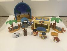 Fisher Price Little People CHRISTMAS NATIVITY THE INN AT BETHLEHEM Rare Complete