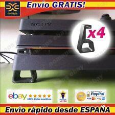 Pies base soportes horizontales Playstation 4 PS4 / FAT / Pro / Slim ventilación