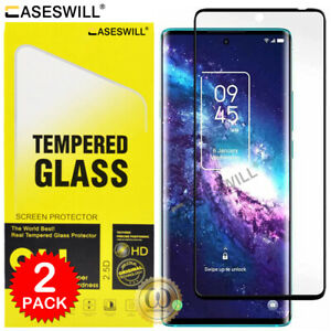 For TCL 20 Pro 5G Caseswill 3D Curved Edge Tempered Glass Film Screen Protector