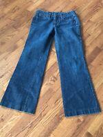 Women's J Crew Boot Cut Jeans Size 8