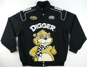 Vintage Chase Authentics Nascar Sprint Cup Digger & Friends Jacket SizeMen's XL