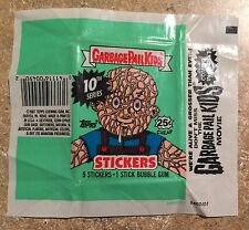 1987 Garbage Pail Kids OS10-RARE Green-Black Codes 1-Empty Wax Pack Wrapper! TWT