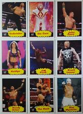 WWE 2012 HERITAGE Trading CARD SET Topps 110 cards SUPERSTARS DIVAS LEGENDS