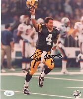 Brett Favre Hand Signed Green Bay Packers 8x10 Photo JSA COA Autograph