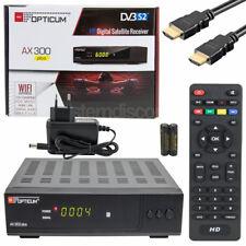 AX-300 HDMI DIGITALE SAT RECEIVER KLASSE GERÄT DIGITAL RESIVER Full HD TV USB