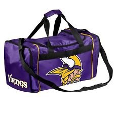 Minnesota Vikings Duffle Bag Gym Swimming Carry On Travel Luggage Tote NEW
