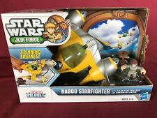 STAR WARS CLONE WARS  - PLAYSKOOL JEDI FORCE GALACTIC HEROES - NABOO STARFIGHTER
