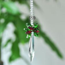 Crystal Suncatcher Drop Prism Rainbow Maker Hanging Pendant Pendulum Home Decor