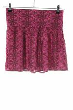 HOLLISTER Mini rok roze-rood abstract patroon casual uitstraling Dames