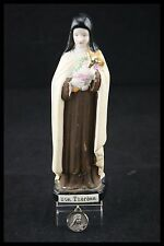 † SAINT THERESE of LISIEUX 1 BISQUE PORCELAIN + 1 HOLY MEDAL SANTA TERESIA †