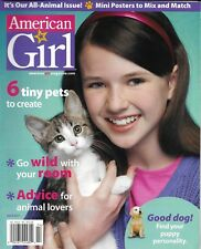 American Girl magazine Tiny pets Animal lovers Your puppy personality Posters