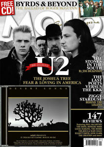 Mojo Music Magazine U2 Byrds Rolling Stones Ziggy Stardust David Bowie CD 2017