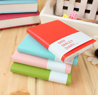 """MINI Cute """"Smiley"""" Pocket Notebook Paper Memo Diary Planner Tiny Journal Notepad"""