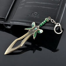 New DOTA2 game butterfly sword weapon black key ring metal keychain boy gift hs