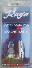 Rage Replacement Blades for Hypodermic No Collar Broadheads
