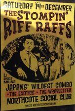 The Stompin' Riff Raffs Tour Poster December 2019 40 X 30 Cm