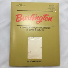 Vintage Burlington Scatter Dot Pantyhose Oatmeal Medium Boutique Collection