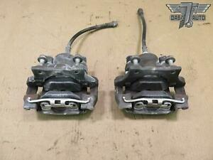 12-15 BMW E84 X1 28XI AWD SET OF 2 REAR LEFT & RIGHT BRAKE CALIPER W/ PADS OEM