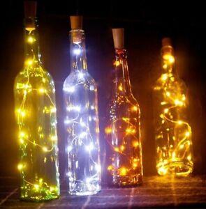 Battery Powered 10 LED coke Shaped Bottle fairy string lights Decoration Lights