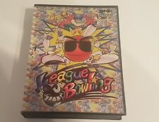 LEAGUE BOWLING NEW SEALED EURO VERSION NEO GEO AES RARE SNK rar NEVER OPEN mint