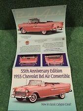 "Danbury Mint "" 1955 Chevrolet Bel Air Convertible ""  Brochure!"