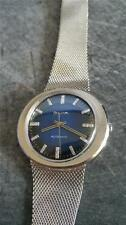 VINTAGE BULOVA AUTOMATIC STUNNING BLUE DIAL WITH DIAMOND MARKERS