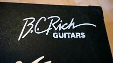 B. C. Rich Guitars Decal Logo Sticker for Guitar Hard Case, Amp Cab, Wall Art,