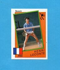 SUPERSPORT 1986-PANINI 86-Figurina n.190- LECONTE - FRANCIA -TENNIS-Recuperata