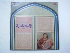 GHULAM ALI IN CONCERT 2 LP 1981 RARE LP RECORD Orig vinyl india hindi GHAZAL VG+