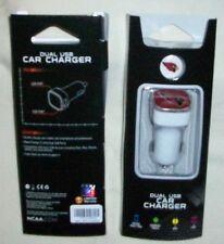 Ariz. Cardinals, NFL Dual USB Car Charger/IPHONE/IPOD/IPAD/ANDROID/TABLET,2 AMP