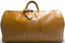 Louis Vuitton EPI KEEPALL 55 XL GOLD Jipang Beige Braun Brun Brown Tasche Bag