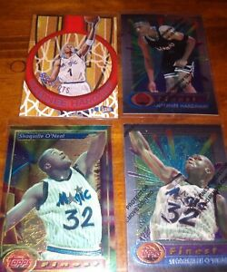 Anfernee Hardaway  Shaquille O'Neal Topps Finest / Fleer Ultra Orlando Magic Lot