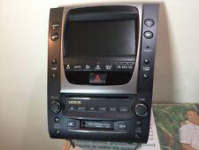 2006 Lexus GS300 Navigation GPS Navigation Receiver Cd Player Radio Unit