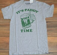 St Patrick T-Shirt St Paddy's Day IRISH Tee ITS PADDY TIME Green Beer!!!